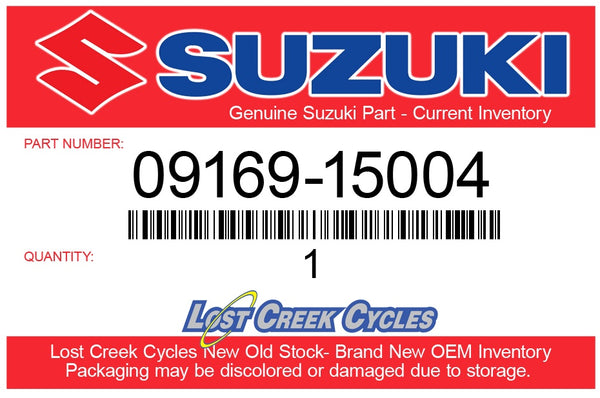 Suzuki 09169-15004 WASHER, PISTON PIN