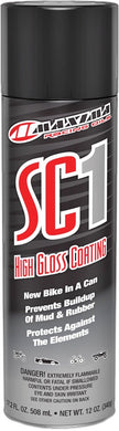 MAXIMA HIGH GLOSS SC1 CLEAR COAT SILI CONE SPRAY 12OZ