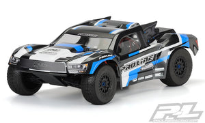 Pro-Line 3458-17 Flo-Tek Pre-Cut Fusion Short Course Body (Clear)