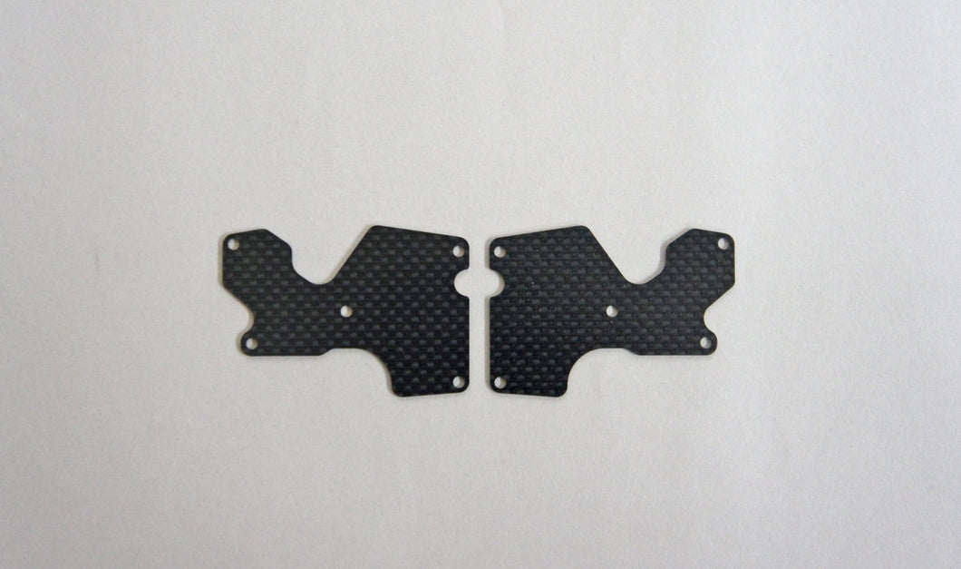 Mugen Seiki E2156 1mm MBX8 Graphite Rear Lower Arm Plate (2)