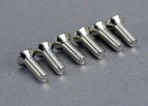Traxxas 5169 Screws, 2.6x8mm countersunk machine (6)