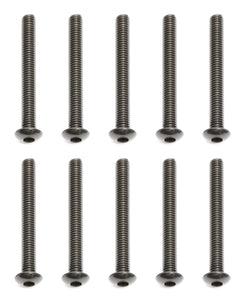 Team Associated 89205 Button Head Cap Screw 3x26mm (10)