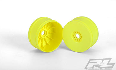 Pro-Line 2702-02 Yellow Velocity V2 1/8 Buggy Rims (4)