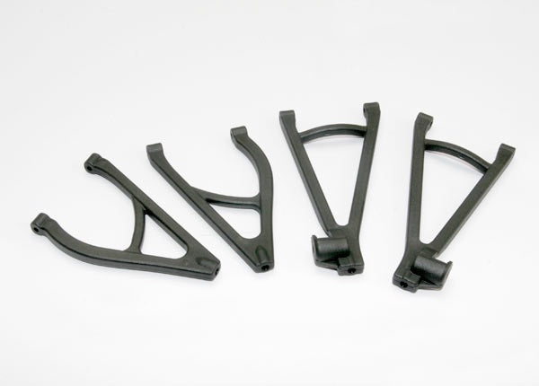 Traxxas 7132R Suspension arm set, rear, extended wheelbase (lengthens wheelbase 10mm) (includes upper right & left and lower right & left arms) 0.05