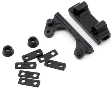 Team Losi Racing TLR1056 Steering Rack/Rack Housing & Spacer Set (TLR 22)