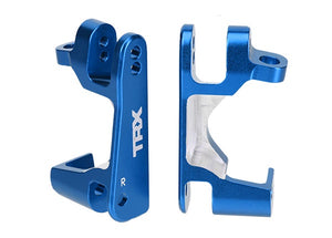 Traxxas 6832X Caster blocks (c-hubs), 6061-T6 aluminum (blue-anodized), left & right 0.11