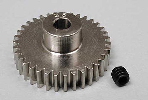 Robinson Racing RRP1035 Steel 48P Pinion Gear (3.17mm Bore) (35T)