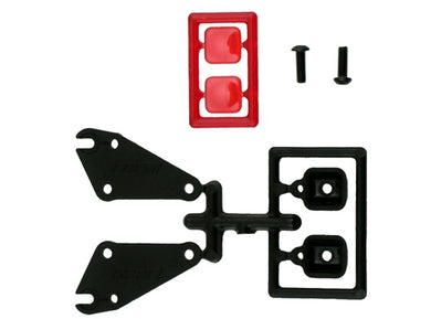 RPM  81030 Tail Light Set Traxxas Slash (RPM Bumpers only)