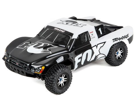 Traxxas 68086-4-FOX Slash 4X4 VXL: 1/10 Scale 4WD Electric Short Course Truck with TQi Traxxas Link & TSM