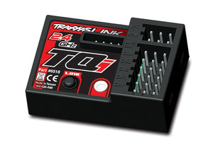 Traxxas 6518 Receiver, micro, TQi 2.4GHz with telemetry (5-channel) 0.045