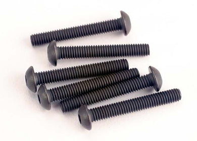 Traxxas 2580 Screws, 3x20mm button-head machine (hex drive) (6) 0.02