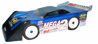 RJ Speed 1058 1:8 Mega Wedge Dirt Oval Body