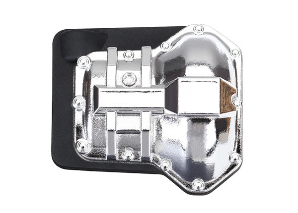 Traxxas 8280X - Differential cover, front or rear (chrome-plated)