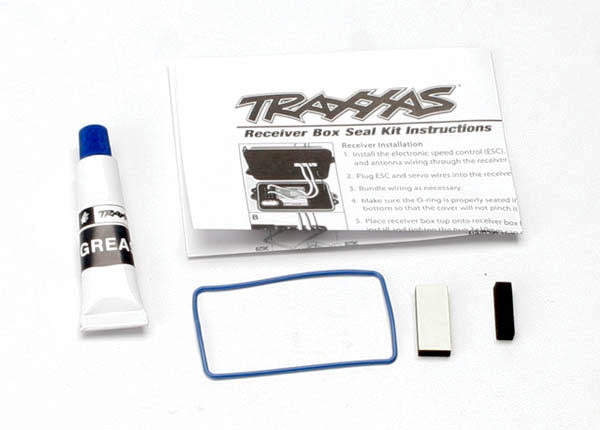 Traxxas 3629 - Seal kit, receiver box (includes o-ring, seals, and silicone grease)