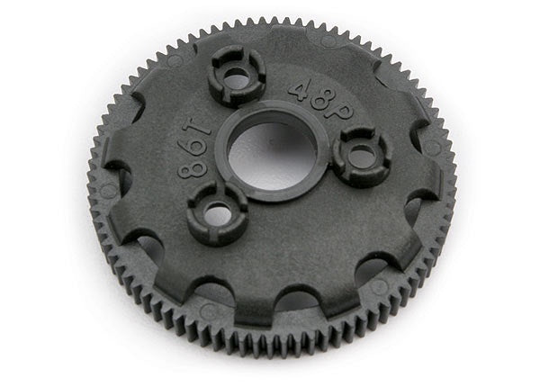 Traxxas 4686 Spur gear, 86-tooth (48-pitch) (for models with Torque-Control slipper clutch) 0.025