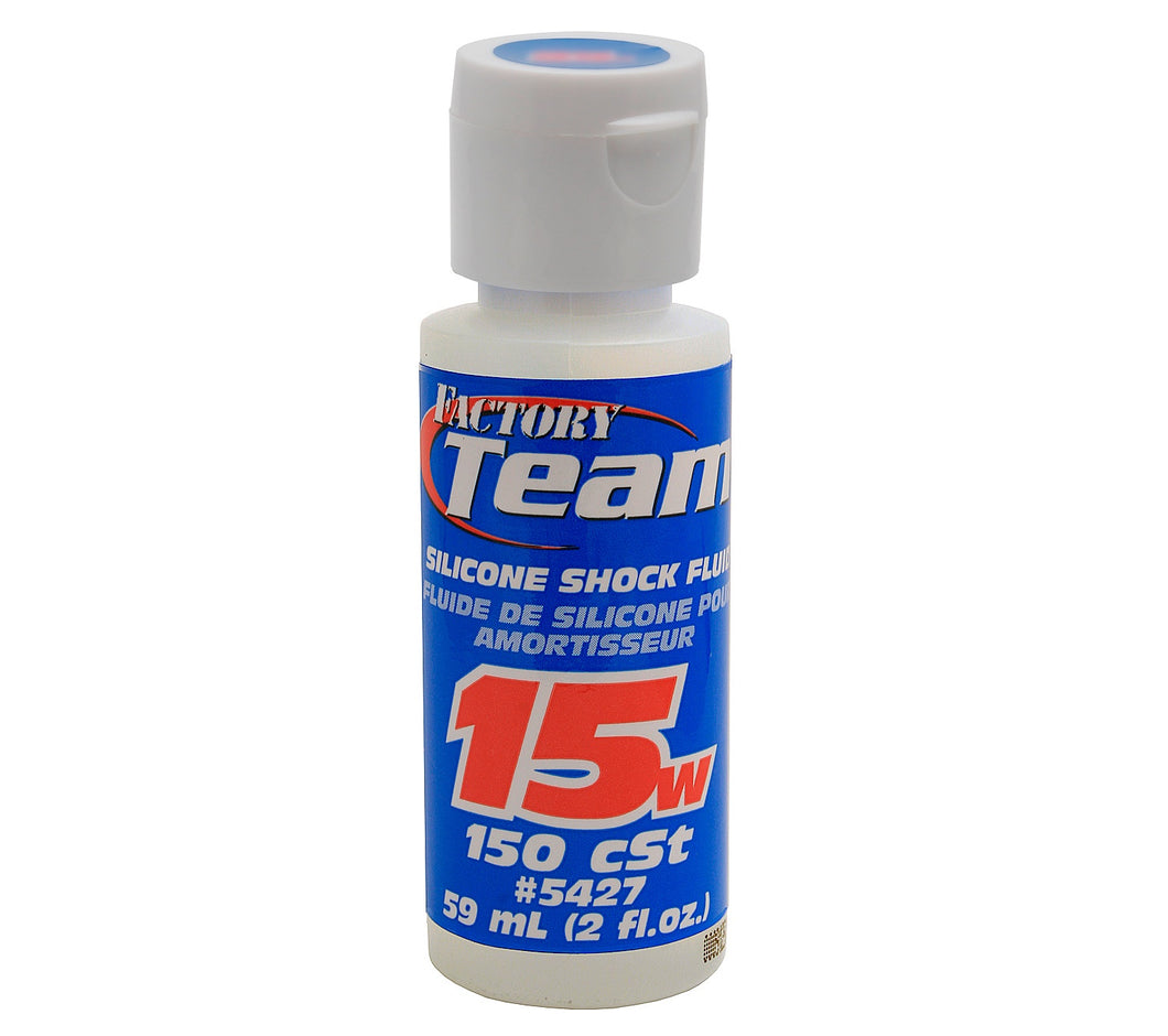 Team Associated 5427 15Wt Silicone Shock Oil, 2 Oz