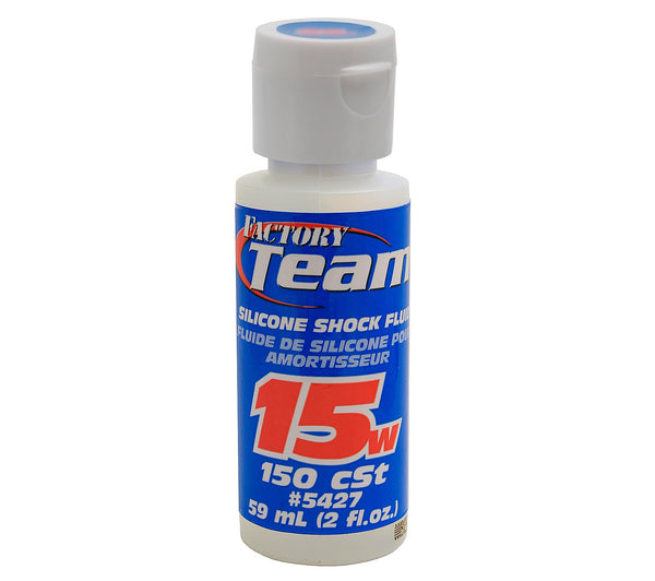 Team Associated 5427 15 weight Silicone Shock Oil, 2 Oz