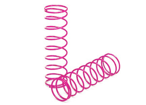 Traxxas 2458P - Springs, front (pink) (2)