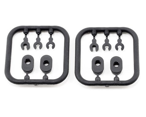 XRAY 372315 Composite Eccentric Bushings/Caster Clips (2)