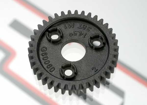 Traxxas 3954 Spur gear, 38-tooth (1.0 metric pitch) 0.02