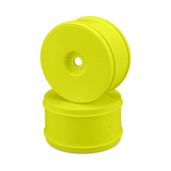 "Jconcepts JCO3369Y Bullet - 4.0"" 1/8th truck wheel (yellow) - 4pc."