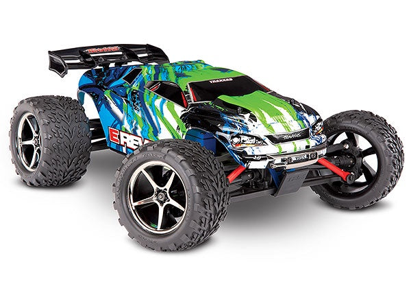 Traxxas 71054-1-GRN E-Revo: 1/16-Scale 4WD Racing Monster Truck with TQ 2.4GHz radio system