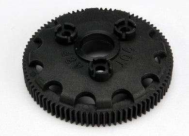 Traxxas 4690 Spur gear, 90-tooth (48-pitch) (for models with Torque-Control slipper clutch) 0.025