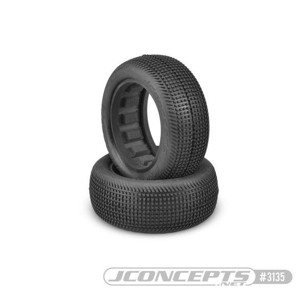 "Jconcepts 3134-02 Sprinter 2.2 - green compound (fits 2.2"" 1/10th 2wd buggy front wheel)"
