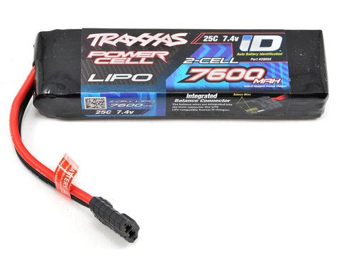 Traxxas 2869X 7600mAh 7.4v 2-Cell 25C LiPo Battery 0.835