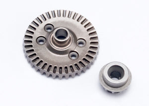 Traxxas 6879 Ring gear, differential/ pinion gear, differential (rear) 0.07