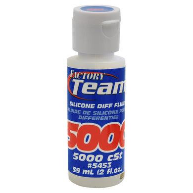 Team Associated 5453 Silicone Differential Fluid (5,000cst) (2oz)