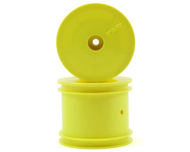 Losi TLR7002 Fr/R Wheel, Yellow:(2) 22T