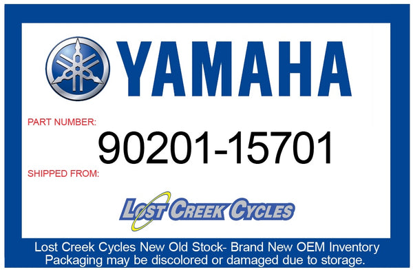 Yamaha 90201-15701-00 Washer, Plate (T=1.0)