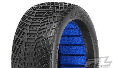 Pro-Line 9061-203 Positron 1/8 Buggy Tires w/Closed Cell Inserts (2) (S3)