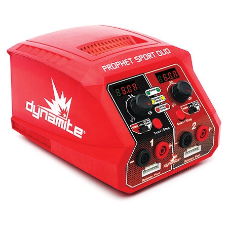 Prophet Sport DYNC2025 Duo 50W x 2 AC Battery Charger, US