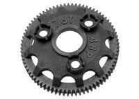 Traxxas 4676 Spur gear, 76-tooth (48-pitch) (for models with Torque-Control slipper clutch) 0.02