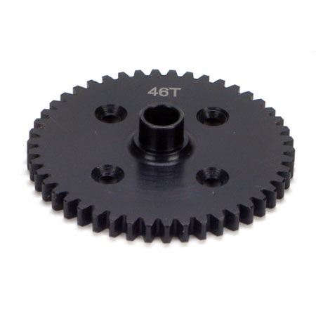 LOSA3551 Center Diff 46T Spur Gear Steel: 8B/8T