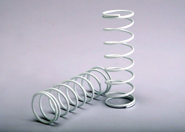 Traxxas 2458A Springs, front (white) (2) 0.025