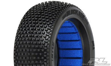 Pro-Line 9039-03 Blockade M4 1/8 Buggy Tires w/Closed Cell Inserts (2)