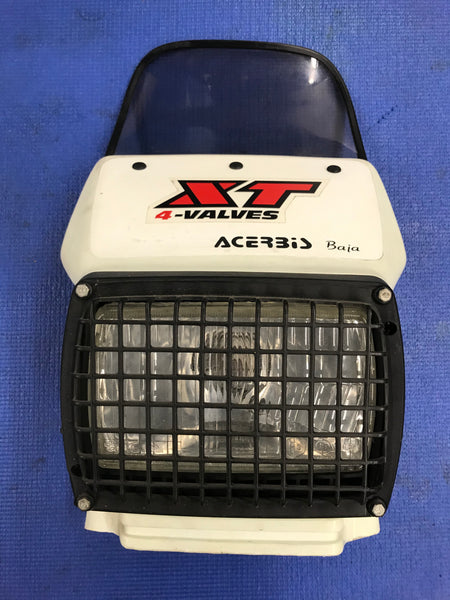 Yamaha XT 350 1986 Acerbic Baja Head Light Cowling  headlight