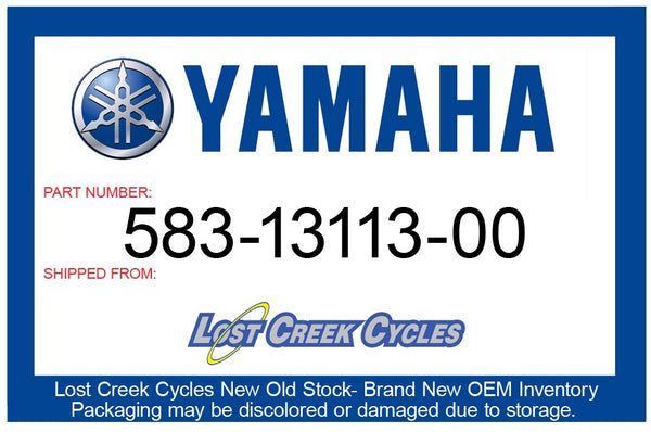Yamaha Seat, Check Ball 583-13113-00-00