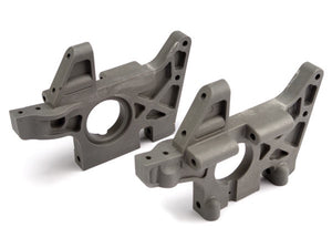 Traxxas 4930R Front Left & Right Bulkheads (Grey) (TMX3.3)