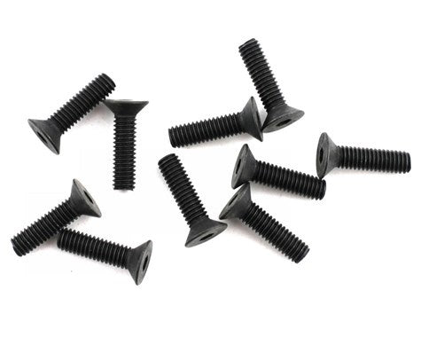 Mugen B0748 4x15mm SJG Flat Head Screw (10)