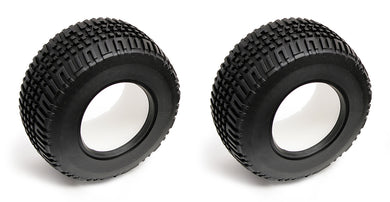 Team Associated ASC9809 Tire, with Foam Insert: SC10