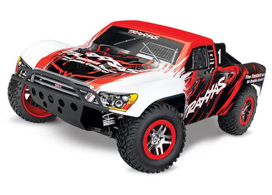 68086-4 - Slash 4X4: 1/10 Scale 4WD Electric Short Course Truck. Ready-to-Race® Red