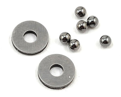 Team Losi Racing TLR2947 2mm Tungsten Carbide Thrust Ball Set (6)