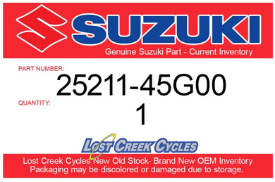 Suzuki 25211-45G00 Gear Shift Fork 1 LTR450