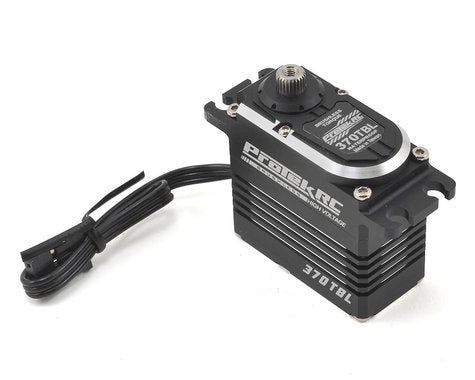 "ProTek RC 370TBL ""Black Label"" Waterproof High Torque Brushless Crawler Servo (High Voltage/Metal Case) (Digital)"
