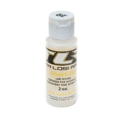 Team Losi Racing TLR74006 Silicone Shock Oil (30wt) (2oz)