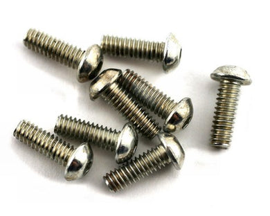Losi LOSA6277 5-40x3/8 Button Head Screws (8)